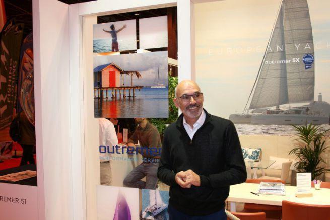 Stéphane Grimault, nouveau directeur général des catamarans Outremer