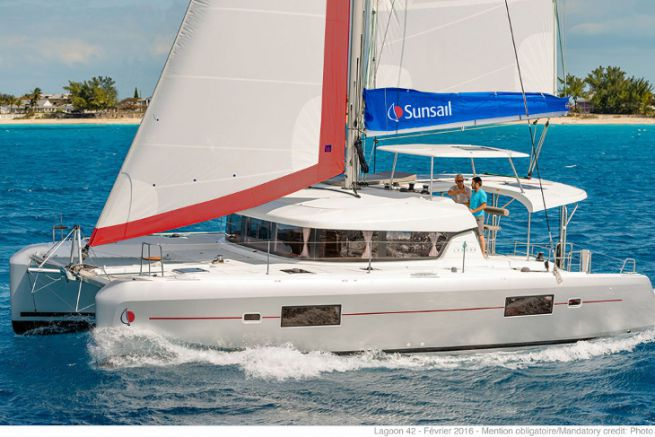 Futur Sunsail 424 - Lagoon 42